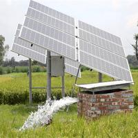 China 9200W High efficient MPPT 300-750V DC solar water pump system(solar panel + pump inverter + water pump) on sale