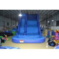 Double Line Outdoor Blue Kids Inflatable Family Pool Good Tension Manufactures