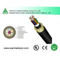 Aramid Yarn Span 300m ADSS Optical Fiber Cables ADSS Manufactures