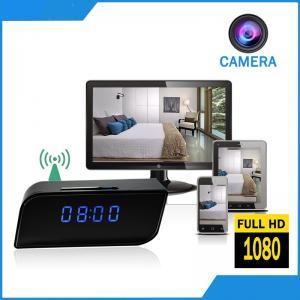 2018 Excellent Quality Digital Clock Hidden Camera DVR Vandal-proof Security Camera Wifi Spy Clock P2P+IP Digital Clock Manufactures