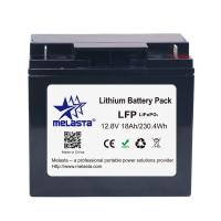 Buy cheap 12.8V 18Ah LiFePo4 battery pack for AGM lead acid battery replacement from wholesalers