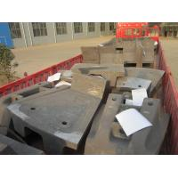 Large AG Mill Castings Sag Mill Liners For Mine Mills HRC33-43 Manufactures