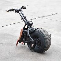 China 1000W Super Cool Folding Electric Bike One Wheel Self Balancing Electric Vehicle on sale