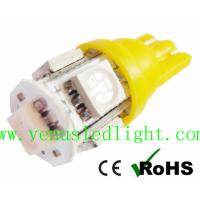 Aqua Blue 5-SMD 5050 Light Bulb lamp T10 168 194 For LED Wholesale Bulk Manufactures