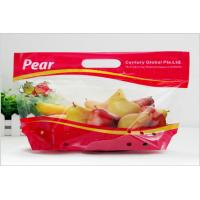 Heat Seal Transparent Fresh Fruit Bags Packaging Pouch Gravure Printing FDA Standard Manufactures