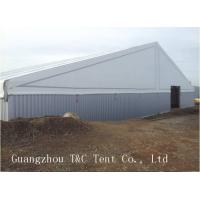 Outside Large Warehouse Tent Available Interior Space For Goods Storage Manufactures