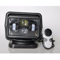 Rotating Wireless 60 Watt 7 inch LED Search Light For Off Road Truck 12v / 24v Manufactures