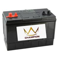 Quality Champion DIN 12V 125AH AMP MF Truck / Ship / Marine Lead Acid Battery for sale