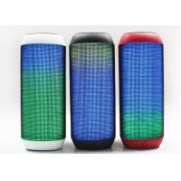 Stereo Outdoor Light Up Bluetooth Speaker Mini Colorful 3 Watt 10 M Receive Range Manufactures