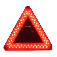 30 LED Flash Solar Powered Resident Building Aviation Light Obstruction Warning Lamp For Tower Crane 3-5 km Visibility