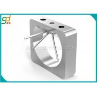 Bus Staintion Security Tripod Turnstile Gate , Automated Security Gates OEM Manufactures