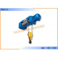 Accurate Stroke Electric Wire Rope Hoist Workstation Steel 1.6-12.5 Lifting Capacity Manufactures