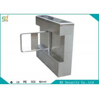 Two Sides Intelligent  Swing Barrier  Gate Made Of 304 Stainless Steel Material Manufactures
