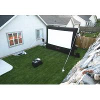 Backyard Air Cinema Inflatable Cinema Screen Giant With Personalised Colour , Repair Kits Manufactures