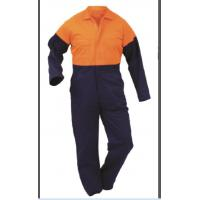 100% Cotton and Polyester/Cotton Men's Workwear Overalls Manufactures