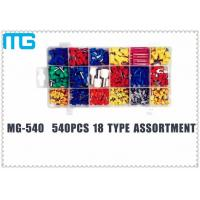 TE E Colorful Terminal Assortment Kit MG-540 540 pcs Customized 18 Types Manufactures