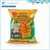 Quality Food Plastic Packaging Bags / snack heat seal packaging bags with pillow pouch for sale