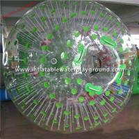 Safety Football Inflatable Zorb Ball Rental , Adventure Sports Human Hamster Ball Manufactures