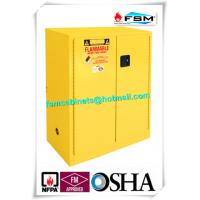 Lockable Safety Storage Cabinets Adjustable Fireproof Vents For Flammable Liquids Manufactures