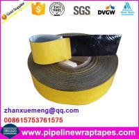 Bitumen Ahesive Flashing Tape For Buried Pipeline Manufactures