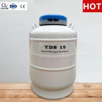 China Tianchi Chemical Storage Tank YDS-15-125 Cryogenic Vessel 15L Liquid Nitrogen Container on sale