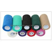 Cohesive Elastic Bandage For Cow Equine Horse 4inch Non - Woven Hand Tearable Manufactures
