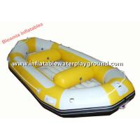 Water Games Inflatable Raft Boat , River Rafting Boats With 2.0mm Reinforced Base Manufactures