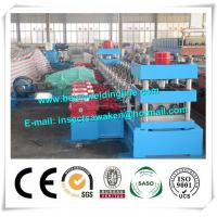 3 Waves Cold Rolled Steel Silo Forming Machine With 17 Forming Stations Manufactures