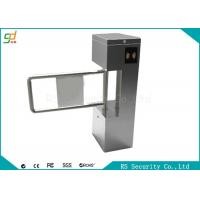 Stainless Steel Single Side Swing Barrier Gate With IR Sensor Control Manufactures