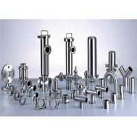 3A Stainless Steel Pipe Fittings For Milk Production Line Juice Processing Line Manufactures