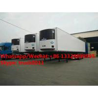 Quality Factory customized CLW bramd 13.8m length reefer van semitrailer/refrigerator van semitrailer for Africa,  refriger for sale