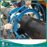 Hand applied tape Pipe Wrapping Machine , steel pipe coating equipment Manufactures
