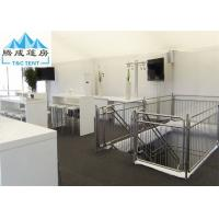 Buy cheap Double Decker Aluminum Frame White PVC Proof For Outdoor Party Show Event Tents from wholesalers