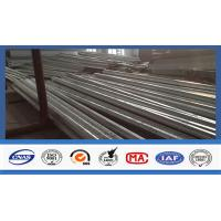 Buy cheap Custom 45ft High Polygonal Shape Electrical Power Pole Hot - Dip Galvanized from wholesalers
