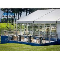 Clear Span Large Frame Tent Light Frame Steel Structure For Soccer Ball Sports Manufactures