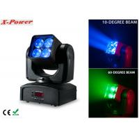 4PCS*12W RGBW Zoom Wash Beam Moving Head Light High Brightness  X-88A Manufactures