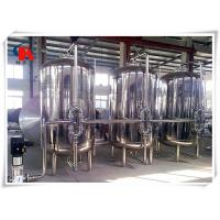 China Online Monitor Reverse Osmosis System , Plc Control Water Treatment Machine on sale