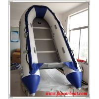 Cold Welding 5 Persons Foldable Inflatable Boat Inflatable Sailing Dinghy plywood floor Manufactures