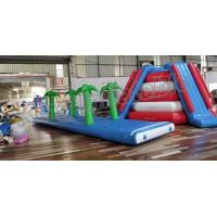 Buy cheap Crazy Fun Seal Welding Commercial Inflatable Water Parks With Air Pump And from wholesalers