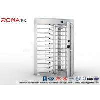High Security Turnstile Full Height Stainless Steel Access Control For Prison Manufactures