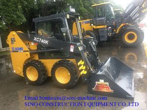 China Construction Wheel loader XC740K Skid Steer Loader With Different Attachments on sale