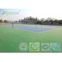 Acrylic Tennis Court Surface 2-7 Mm Thickness , Reducing Injury To Athletes Manufactures