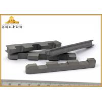 Hard Alloy Tungsten Carbide Cutting Tools High Bending Strength With High Hardness Manufactures