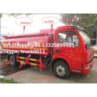 Dongfeng xiaobawang diesel 95hp 5000 liter mobile refueling trucks, factory sale best price dongfeng 5m3 oil tank truck Manufactures