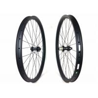 Quality Light Weight 650B DH Carbon Mtb Wheels 27.5 Tubuless Handbuilt High Precision for sale