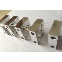0.01mm Tolerance Custom CNC Aluminum Parts Nickel / Chrome Plating Surface Manufactures