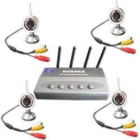 2.4Ghz Wireless Surveillance Kit with 4 X 12Leds Cameras Manufactures