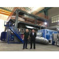 AF-3200mm PP Spunbond Nonwoven Fabric Making Machine , S SS SMS  Nonwoven Fabric Production Line Manufactures
