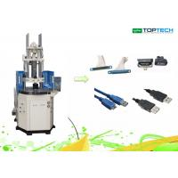 Motor Rotor Vertical Hydraulic Plastic Injection Moulding Machine 60 Ton High Control Precision Manufactures
