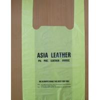 Small Compostable Shopping Bags , Corn Starch Plastic T Shirt Shopping Bags Manufactures